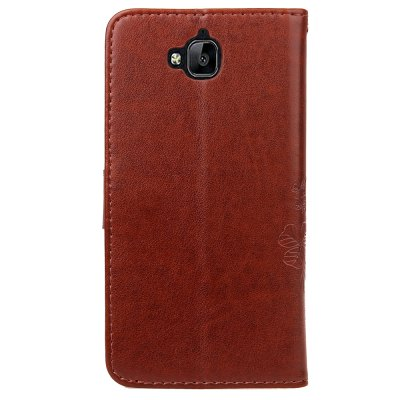 Lucky Clover Holster Leaf Card Lanyard Pu Leather for Huawei Y6 ProCases &amp; Leather<br>Lucky Clover Holster Leaf Card Lanyard Pu Leather for Huawei Y6 Pro<br><br>Color: Black,Blue,Purple,Brown,Gray,Rose Madder<br>Features: Full Body Cases, With Credit Card Holder, Anti-knock<br>Mainly Compatible with: Moto<br>Material: PU Leather, TPU<br>Package Contents: 1 x Case<br>Package size (L x W x H): 15.00 x 9.00 x 2.00 cm / 5.91 x 3.54 x 0.79 inches<br>Package weight: 0.0700 kg<br>Product Size(L x W x H): 15.00 x 8.00 x 1.50 cm / 5.91 x 3.15 x 0.59 inches<br>Product weight: 0.0600 kg<br>Style: Vintage, Solid Color, Vintage/Nostalgic Euramerican Style, Novelty, Cute