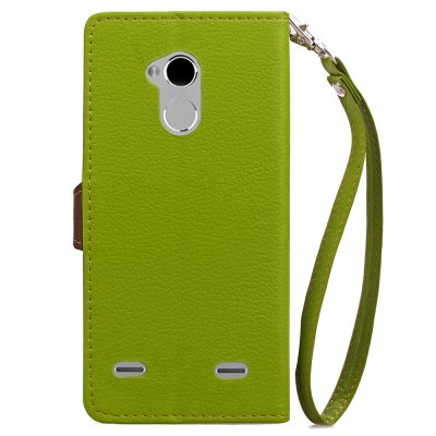 Love Leaf Card Lanyard Pu Leather for Zte V7 Lite velcro business card lanyard pu leather for huawei honor 8 pro
