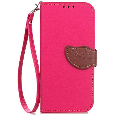 Love Leaf Card Lanyard Pu Leather para Asus Zc520tl