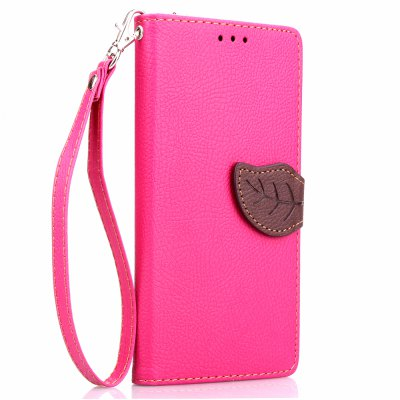 Love Leaf Card Lanyard Pu Leather para Asus Zenfone 5