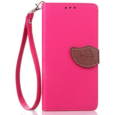 Love Leaf Card Lanyard Pu Leather para Asus Ze500kl 5INCH