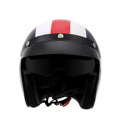 3/4 Motorcycle Helmet Goggles Half Open Face Helm Captain AmericaOther  Motorcycle Accessories<br>3/4 Motorcycle Helmet Goggles Half Open Face Helm Captain America<br><br>Accessories type: Others<br>Applicable Motorcycle Brand: For Aprilia,For BMW,For Ducati,For Honda,For Kawasaki,For MV Agusta,For Suzuki,For Triumph,For Yamaha,Universal<br>Package Contents: 1 x Helmet, 1 x Visor<br>Package size (L x W x H): 34.00 x 26.00 x 28.00 cm / 13.39 x 10.24 x 11.02 inches<br>Package weight: 1.3500 kg