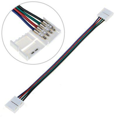 SUPli 5PCS Quick Splitter Connector 10MM L Shape 4 Conductor for RGB with 10PCS Strip Light ConnectorLED Accessories<br>SUPli 5PCS Quick Splitter Connector 10MM L Shape 4 Conductor for RGB with 10PCS Strip Light Connector<br><br>Accessory type: Concentrated Cup<br>Color: White<br>Material: Plastic<br>Package Contents: 10 x Strip Light Connector Extension, 5 x 10MM L-Shape, 10 x 4-Connector Quick Splitter Right Angle Corner Connector<br>Package size (L x W x H): 13.00 x 11.00 x 3.00 cm / 5.12 x 4.33 x 1.18 inches<br>Package weight: 0.0400 kg<br>Product size (L x W x H): 12.00 x 10.00 x 2.00 cm / 4.72 x 3.94 x 0.79 inches<br>Product weight: 0.0380 kg