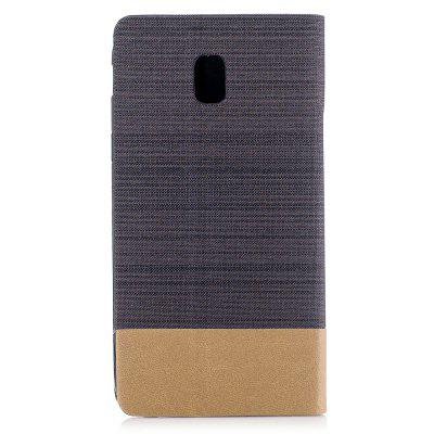 Simple Style Canvas Design Flip PU Leather Case for Samsung Galaxy J5 2017 (Europe and Asia Edition)Samsung J Series<br>Simple Style Canvas Design Flip PU Leather Case for Samsung Galaxy J5 2017 (Europe and Asia Edition)<br><br>Features: With Credit Card Holder<br>Material: PU Leather<br>Package Contents: 1 x Flip Pu Leather Wallet Case<br>Package size (L x W x H): 10.00 x 10.00 x 5.00 cm / 3.94 x 3.94 x 1.97 inches<br>Package weight: 0.0500 kg<br>Product weight: 0.0300 kg<br>Style: Solid Color