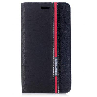 British Style Stripe Design Flip PU Leather Case for Samsung Galaxy J7 2017 (Europe and Asia Edition)
