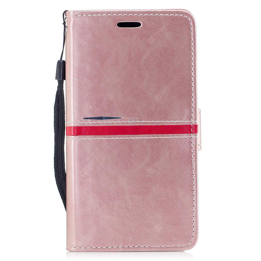 Elegant Style Back Magnetic Buckle Flip PU Leather Wallet Case for Samsung Galaxy J7 2017 (Europe and Asia Edition)