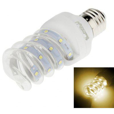 Buy WARM WHITE LIGHT Youoklight 1PCS E27 5W Ac 220V 12 Led 2835 Smd Warm White / Cool White Led Corn Bulb for $3.82 in GearBest store