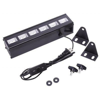 U King 6PCS Led UV Black Wall Wash Light for Stage Effect Lighting 18W Auto