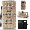 Sparkling Breakfast 3D Painted Pu Phone Case for Samsung Galaxy Note 8 - COLORMIX