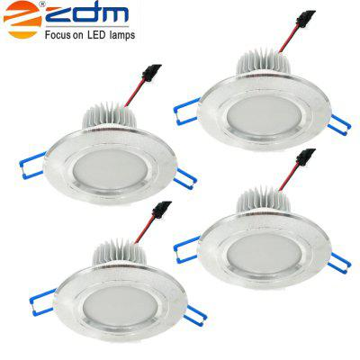Buy Zdm 4pcs 5W 400-450LM Led Low Voltage Downlights Warm White/Cool White/Natural White Ac12v/Ac24v COLD WHITE AC24V for $22.41 in GearBest store