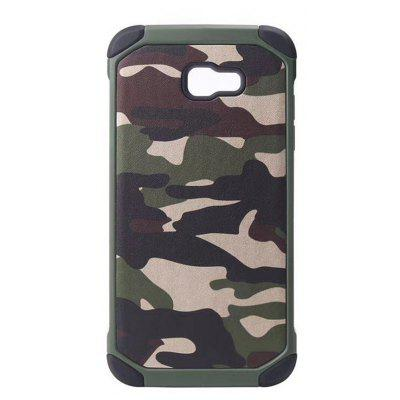 Army Camo Pattern Pc Tpu 2 In1 Phone Case for Samsung Galaxy A7 2017 A720
