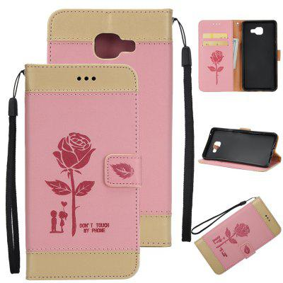 Buy Wkae Mixed Colors Rose Flower Frosted Premium Leather Wallet Stand Case Cover with Lanyard Card Slots Samsung Galaxy J7 Prime, PINK + GOLD, Mobile Phones, Cell Phone Accessories, Samsung Accessories, Samsung J Series for $3.85 in GearBest store