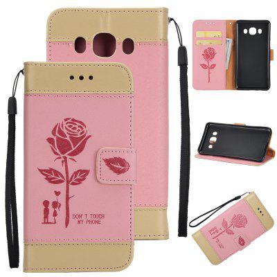 Buy Wkae Mixed Colors Rose Flower Frosted Premium Leather Wallet Stand Case Cover with Lanyard Card Slots Samsung Galaxy J310, PINK + GOLD, Mobile Phones, Cell Phone Accessories, Samsung Accessories, Samsung J Series for $3.85 in GearBest store