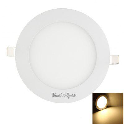 Youoklight 1PCS 3W Ac85-265v Cold White / Warm White Light Led Round Panel Light Lamp