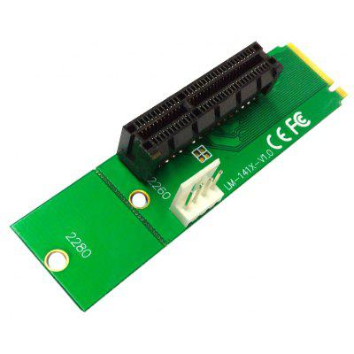 NGFF To Pci-E X4 Slot Adapter Card M.2 Port To Pcie Expansion Card