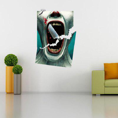 3D View Scary Bloody Broken Japanese Horror Bloody Home Decor Mural