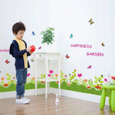 Buy Happiness Garden Wall Decal for Kids Living Room Home Decration, MIX COLOR, Home & Garden, Home Decors, Wall Art, Wall Stickers for $5.01 in GearBest store