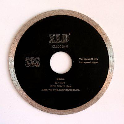 Xld Cold-Pressed Continuous Rim Saw Blade Grade A 105 x 1.7 x 5 x 22.23