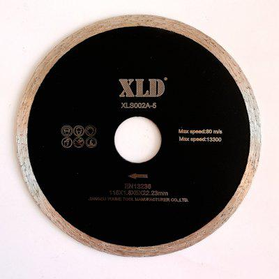 Xld Cold-Pressed Continuous Rim Saw Blade Grade A 115 x 1.8 x 5 x 22.23