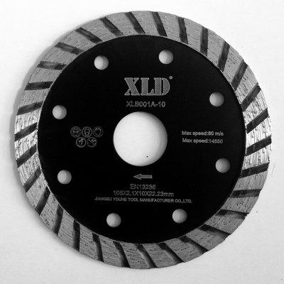 Xld Cold-Pressed Turbo saw Blade Grade A 105 x 2.1 x 10 x 22.23