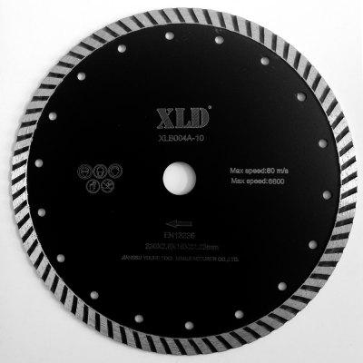 Xld Diamond Cold-Pressed Turbo Saw Blade Grade A 230 x 2.6 x 10 x 22.23