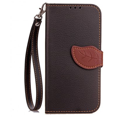 Yc Leaf Card Lanyard Pu Leather for Vodafone Smart Turbot 7