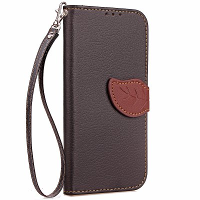 Yc Leaf Card Lanyard Pu Leather for Meizu 5S