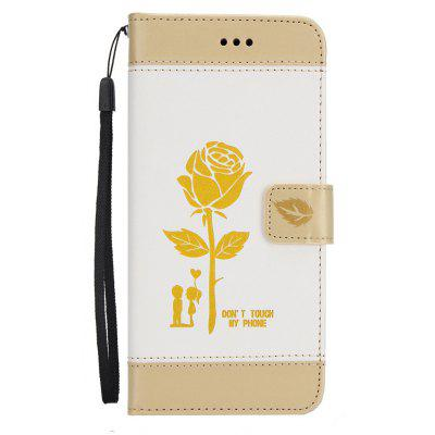 Buy Wkae Mixed Colors Rose Flower Frosted Premium Leather Wallet Stand Case Cover with Lanyard Card Slots for Samsung Galaxy Note 8, WHITE + GOLD, Mobile Phones, Cell Phone Accessories, Samsung Accessories, Samsung Note Series for $3.85 in GearBest store