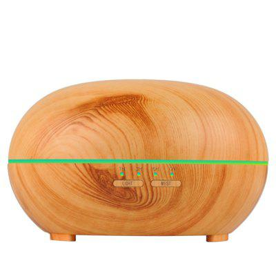 300ml Wood Grain  Air Humidifier Ultrasonic Aroma Diffuser LED Night LightAir Purifier<br>300ml Wood Grain  Air Humidifier Ultrasonic Aroma Diffuser LED Night Light<br><br>Appliance Type: Humidifiers<br>Application Area (sq.m.): 40-60<br>Connector Type: US plug, UK plug, EU plug, AU plug, CN Plug<br>Cord Length: 1.5<br>Humidification Amount (ml/h): 20-30<br>Input Voltage: AC100-240V<br>Material: ABS, PP<br>Noise (dB): &lt;25<br>Package Contents: 1 x Diffuser, 1 x Measuring Cup, 1 x Adapter, 1 x English Manual<br>Package size (L x W x H): 17.00 x 17.00 x 25.10 cm / 6.69 x 6.69 x 9.88 inches<br>Package weight: 0.6270 kg<br>Power (W): 16<br>Product size (L x W x H): 16.53 x 16.53 x 24.09 cm / 6.51 x 6.51 x 9.48 inches<br>Product weight: 0.5060 kg<br>Voltage (V): 24<br>Water Tank Capacity (ml): 300<br>Working Temperature: -20-40 Deg.C