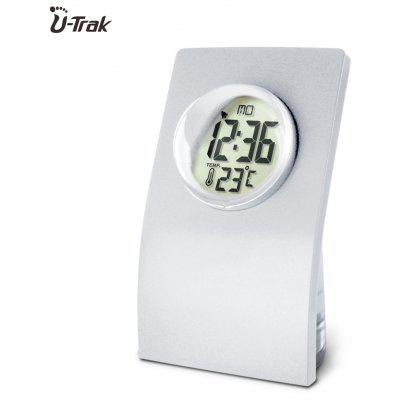 Water Power Clock Home Alarm Clock  with Calendar and Weather Thermometer
