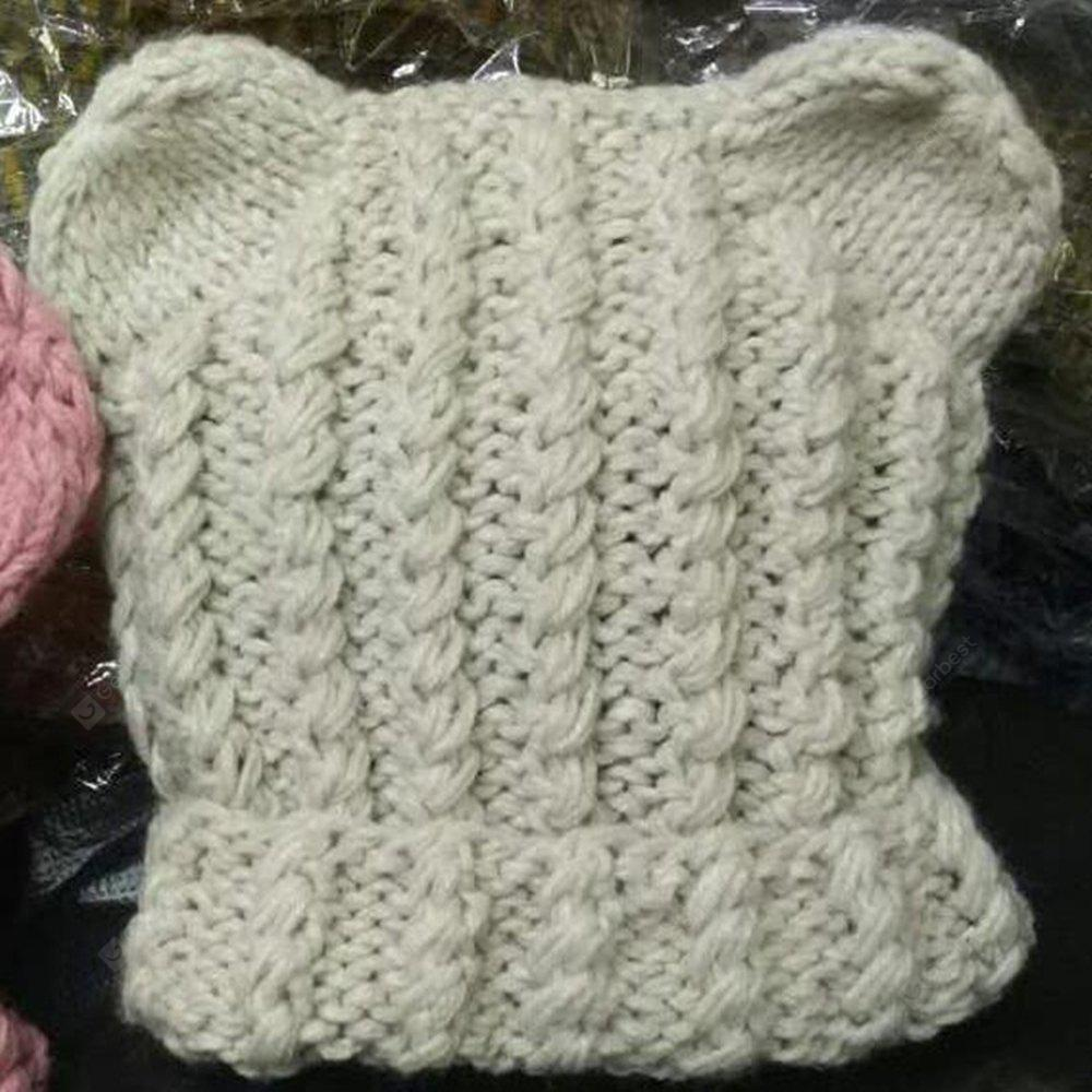 Baby Hat Knitting Solid Baby Accessory