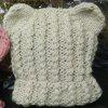 Baby Hat Knitting Solid Baby Accessory - BEIGE