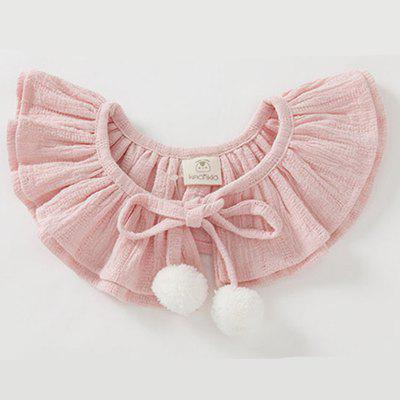 Baby Girls Cape Balls Solid Cute Baby Cloak