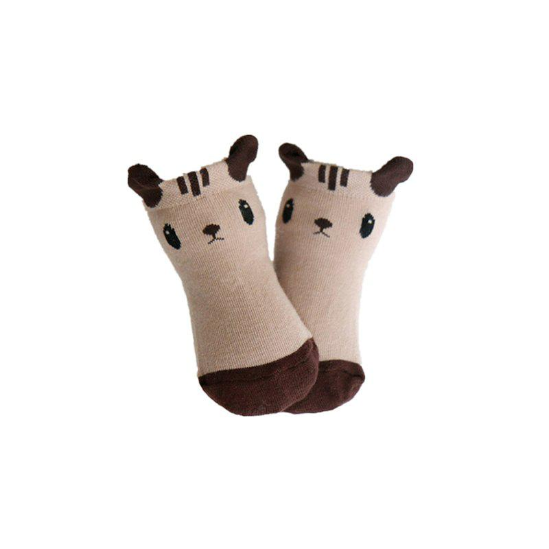 Panda Squirrel Cartoon Short Socks And Baby Socks Are Suitable for Babies Aged 1-2 Years