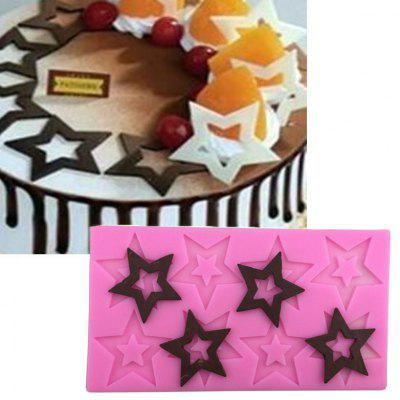 Aya Star Chocolate Cake Molds for Baking