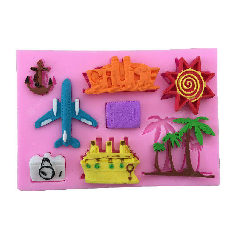 Aya Airplane Coconut Tree Cartoon Cake Molds for Baking