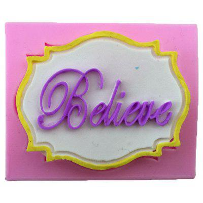 Aya Believe Letter Cake Molds for Baking