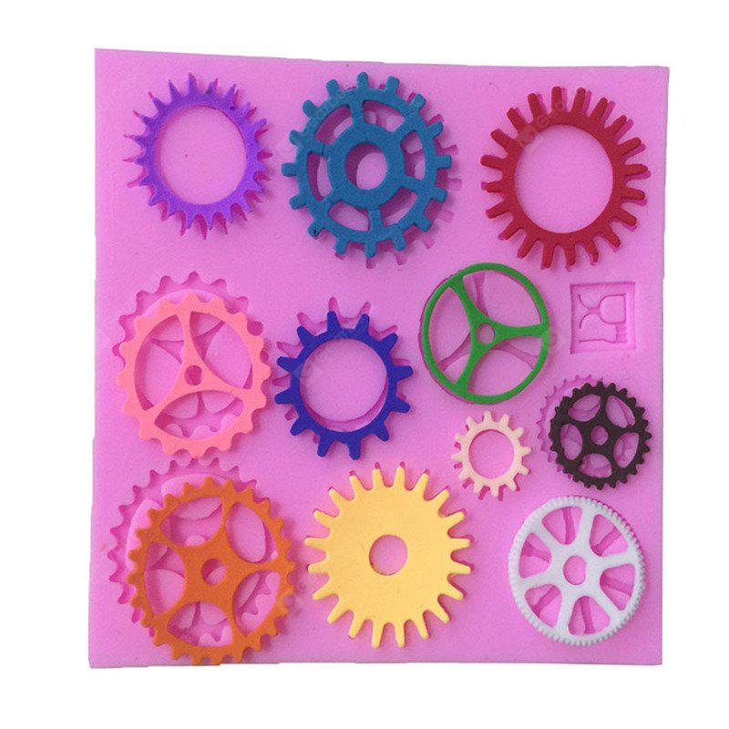 Aya Gear Wheel Cake Molds for Baking