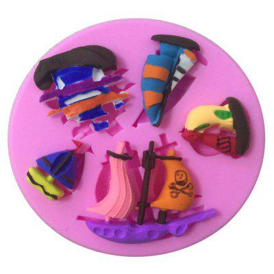 Aya Pirates of Caribbean Cake Molds for Baking