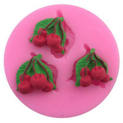 Aya Cherry Fondant Cake Molds for Baking