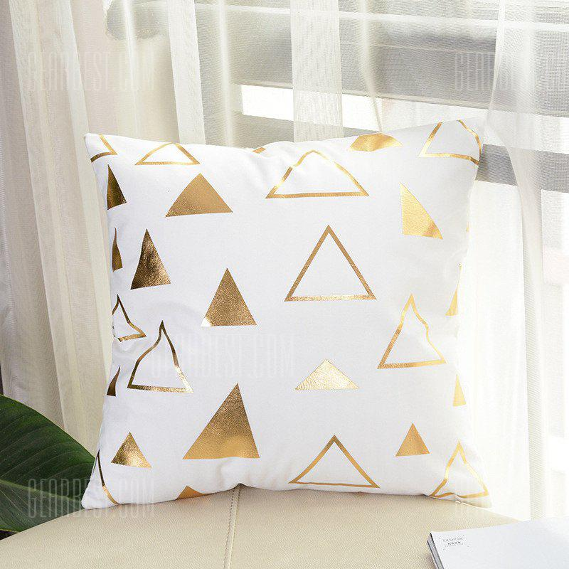 Simple Geometric Triangle Sofa Pillow Cover Decorative Pillowcase