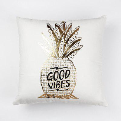 Creative Pineapple Pattern Sofa Pillow Case Decorative Pillowcase