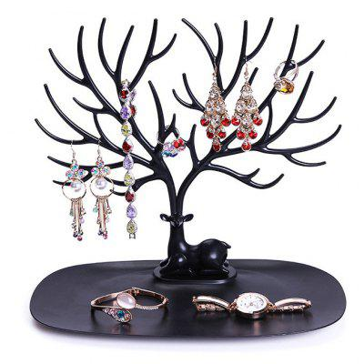 Jewelry Creative Removable Earrings Necklace Jewellery Display Rack