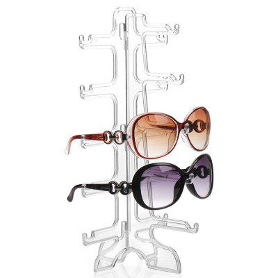 5 Pair of Removable Sunglasses Glasses Display Rack