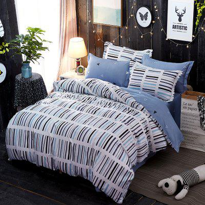 Dyy 4PCS Wave Point Bedding Set Pillowcase Bed Sheet Quilt Cover K12.1.2Bedding Sets<br>Dyy 4PCS Wave Point Bedding Set Pillowcase Bed Sheet Quilt Cover K12.1.2<br><br>Package Contents: 2 x Pillowcase,1 x Bed Sheet,1 x Quilt Cover<br>Package size (L x W x H): 29.00 x 17.00 x 1.50 cm / 11.42 x 6.69 x 0.59 inches<br>Package weight: 1.2000 kg<br>Pattern Type: Leaf, Random pattern, Novelty<br>Product size (L x W x H): 155.00 x 230.00 x 1.00 cm / 61.02 x 90.55 x 0.39 inches<br>Product weight: 1.1000 kg<br>Style: Fresh / Rural, Cartoon / Anime, Scenery / Landscape