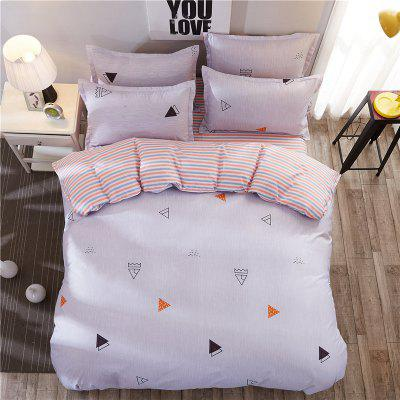 Dyy 3PCS Fashion Design Bedding Set Pillowcase Bed Sheet Quilt Cover Y2017.1.0Bedding Sets<br>Dyy 3PCS Fashion Design Bedding Set Pillowcase Bed Sheet Quilt Cover Y2017.1.0<br><br>Package Contents: 2 x Pillowcase, 1 x Bed Sheet, 1 x Quilt Cover<br>Package size (L x W x H): 29.00 x 17.00 x 1.50 cm / 11.42 x 6.69 x 0.59 inches<br>Package weight: 1.1000 kg<br>Pattern Type: Animal, Random pattern, Leaf, Plaid, Novelty<br>Product size (L x W x H): 155.00 x 230.00 x 1.00 cm / 61.02 x 90.55 x 0.39 inches<br>Product weight: 1.0000 kg<br>Style: Cartoon / Anime, Strip / Grid, Scenery / Landscape, Fresh / Rural, Plant / Flower