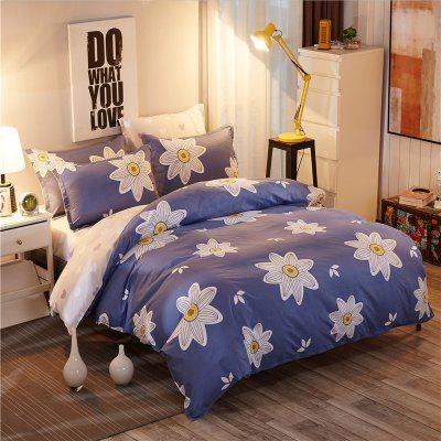 Dyy 4PCS Fashion Design Bedding Set Pillowcase Bed Sheet Quilt Cover Y2017.2.0Bedding Sets<br>Dyy 4PCS Fashion Design Bedding Set Pillowcase Bed Sheet Quilt Cover Y2017.2.0<br><br>Package Contents: 2 x Pillowcase, 1 x Bed Sheet, 1 x Quilt Cover<br>Package size (L x W x H): 29.00 x 17.00 x 1.50 cm / 11.42 x 6.69 x 0.59 inches<br>Package weight: 1.6000 kg<br>Pattern Type: Animal, Random pattern, Novelty, Leaf<br>Product size (L x W x H): 230.00 x 230.00 x 1.00 cm / 90.55 x 90.55 x 0.39 inches<br>Product weight: 1.5000 kg<br>Style: Cartoon / Anime, Fresh / Rural, Scenery / Landscape, Plant / Flower