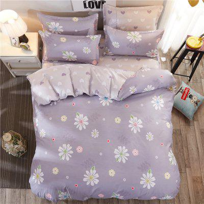 Dyy 4PCS Fashion Artistic Design Bedding Set Pillowcase Bed Sheet Quilt Cover Y2017.2.2Bedding Sets<br>Dyy 4PCS Fashion Artistic Design Bedding Set Pillowcase Bed Sheet Quilt Cover Y2017.2.2<br><br>Package Contents: 2 x Pillowcase, 1 x Bed Sheet, 1 x Quilt Cover<br>Package size (L x W x H): 29.00 x 17.00 x 1.50 cm / 11.42 x 6.69 x 0.59 inches<br>Package weight: 1.8000 kg<br>Pattern Type: Animal, Random pattern, Novelty, Leaf<br>Product size (L x W x H): 230.00 x 250.00 x 1.00 cm / 90.55 x 98.43 x 0.39 inches<br>Product weight: 1.7000 kg<br>Style: Cartoon / Anime, Fresh / Rural, Scenery / Landscape, Plant / Flower