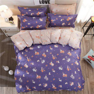 Dyy 3PCS Fashion Artistic Design Bedding Set Pillowcase Bed Sheet Quilt Cover Y2017.1.0Bedding Sets<br>Dyy 3PCS Fashion Artistic Design Bedding Set Pillowcase Bed Sheet Quilt Cover Y2017.1.0<br><br>Package Contents: 2 x Pillowcase, 1 x Bed Sheet, 1 x Quilt Cover<br>Package size (L x W x H): 29.00 x 17.00 x 1.50 cm / 11.42 x 6.69 x 0.59 inches<br>Package weight: 1.1000 kg<br>Pattern Type: Animal, Random pattern, Leaf, Plaid, Novelty<br>Product size (L x W x H): 155.00 x 230.00 x 1.00 cm / 61.02 x 90.55 x 0.39 inches<br>Product weight: 1.0000 kg<br>Style: Cartoon / Anime, Strip / Grid, Scenery / Landscape, Fresh / Rural, Plant / Flower