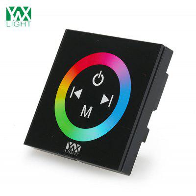 Ywxlight Panel Switch Controller Full Color Touch Dimmer for Led Strip Light Dc 12 - 24V